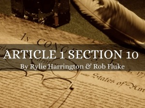 Article 1 Section 10