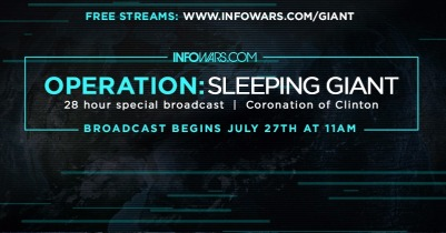 Alex Jones LIVE 28 Hour Broadcast Operation Sleeping Giant 2