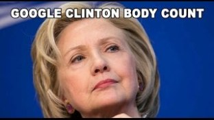 Google Clinton Body Count